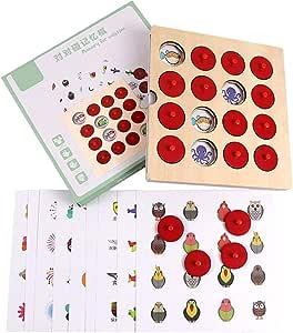 Tree-on-Life Entrenamiento de Memoria Juego de Parejas Juego Juguete Educación temprana Aprendizaje Juguetes interactivos de ajedrez Tren Cerebral Juegos de Rompecabezas para niños: Amazon.es: Hogar
