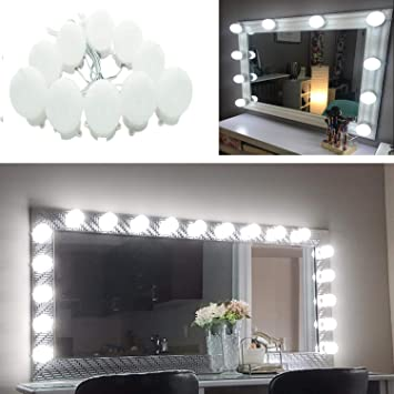 Hollywood Super Star Style Makeup Mirror Vanity Stick On Led Light