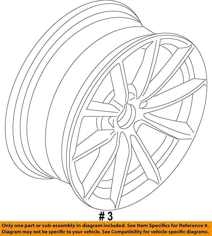 Amazon Com Bmw Oem 13 15 X1 Wheel Alloy Aluminum 36116789149