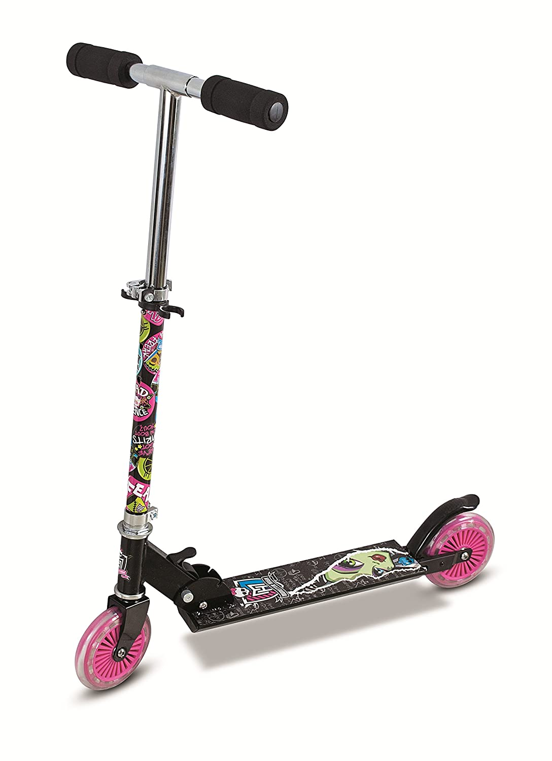Monster High para niña de Inline Scooter - Negro: Amazon.es ...