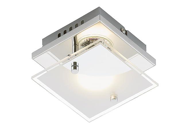 Plafoniera Per Esterno In Plastica : Briloner leuchten 3597 018 plafoniera led applique plastica e vetro
