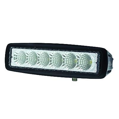 HELLA 357203001 ValueFit Mini Light Bar (6 LED, Flood Beam): Automotive
