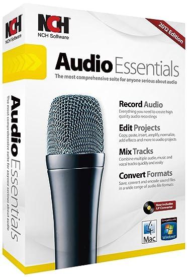 NCH Audio Essentials Suite 2012 OLD VERSION (PC/Mac)