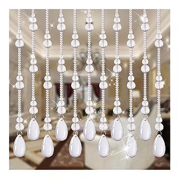 Amazon De Wufeng Vorhang Perlenvorhang Kristall Kurbis