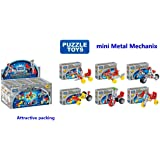 Happy GiftMart Mini Pocket Series Mechanix Like Construction Building Set (Multicolour) - Pack of 6