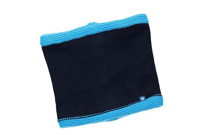 Scaldacollo uomo NAPOLI - ENZO CASTELLANO blu sciarpa tubolare VL166 ... 1414f5a03ab3