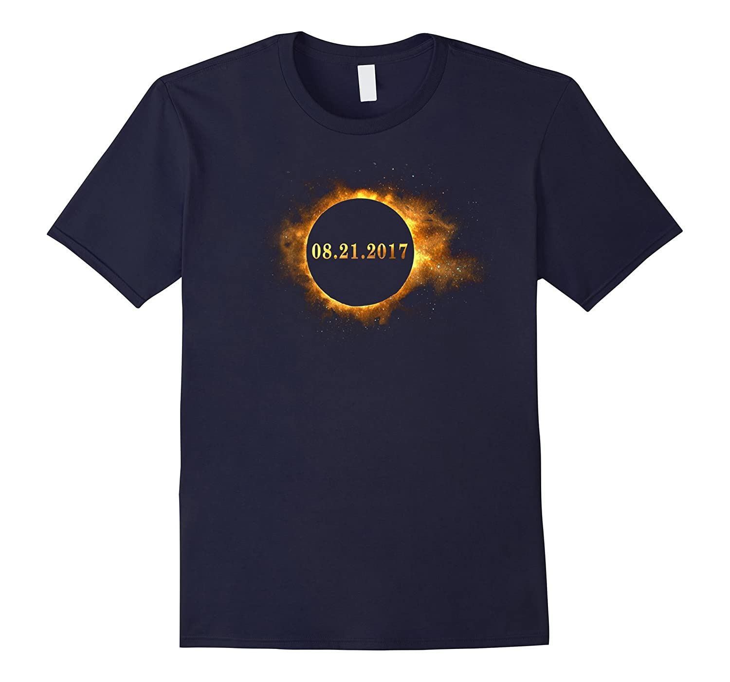Circle Total Solar Eclipse August 21 2017 Funny T-Shirt-BN