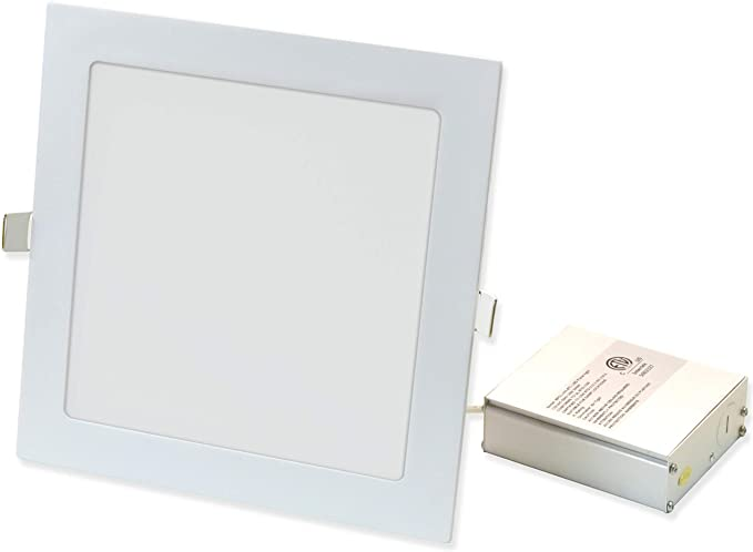8X UltraSlim 18W LED Square Recessed Ceiling Flat Panel Down Light Neutral White