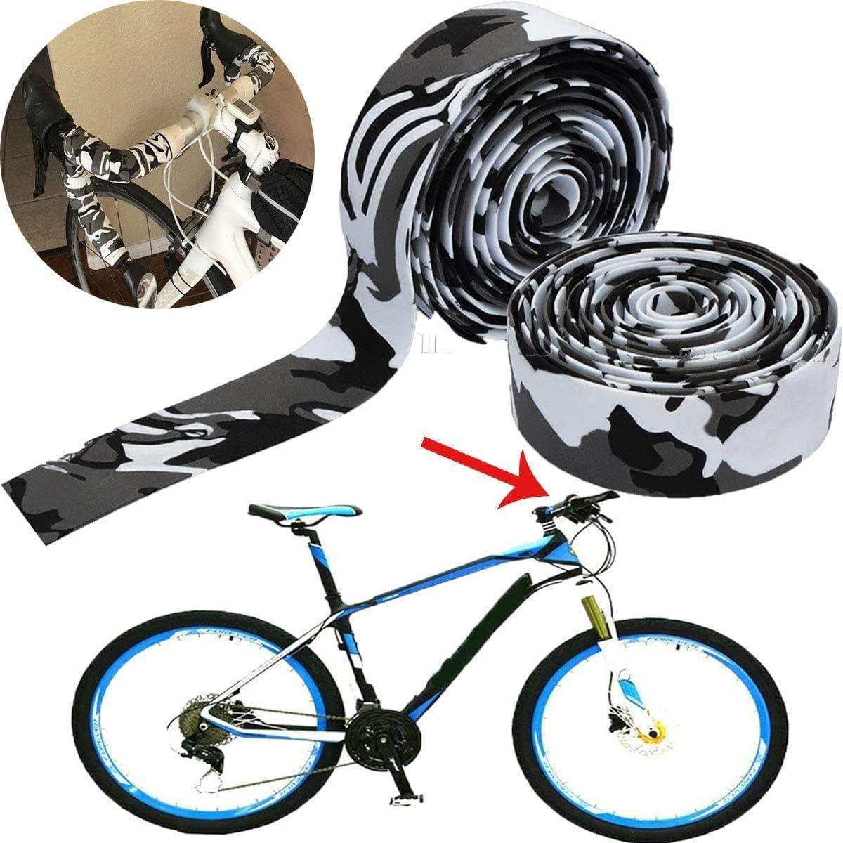Bicycle Non-slip Handlebar Tape Bike Cycling Handle Bar Soft Grip Wrap v