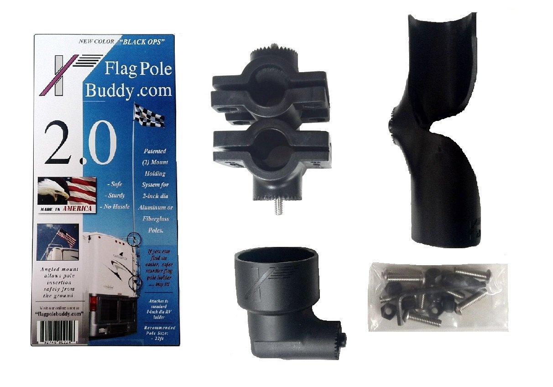 Flagpole Buddy 2'' Mount 106201 Flagpole Buddy by FlagPole Buddy (Image #1)