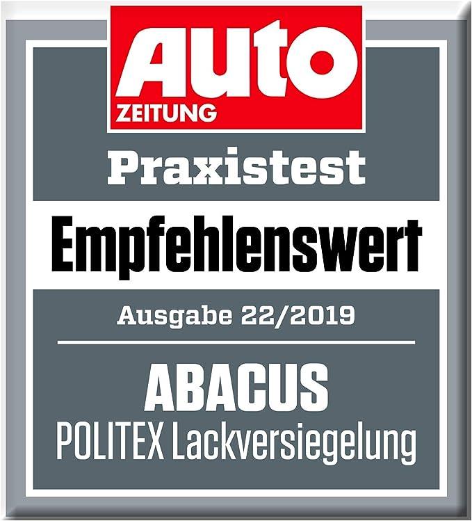 Abacus Autopolitur Set Hochglanzpolitur Lackversiegelung Kratzerentferner Schleifpaste 7357 Auto