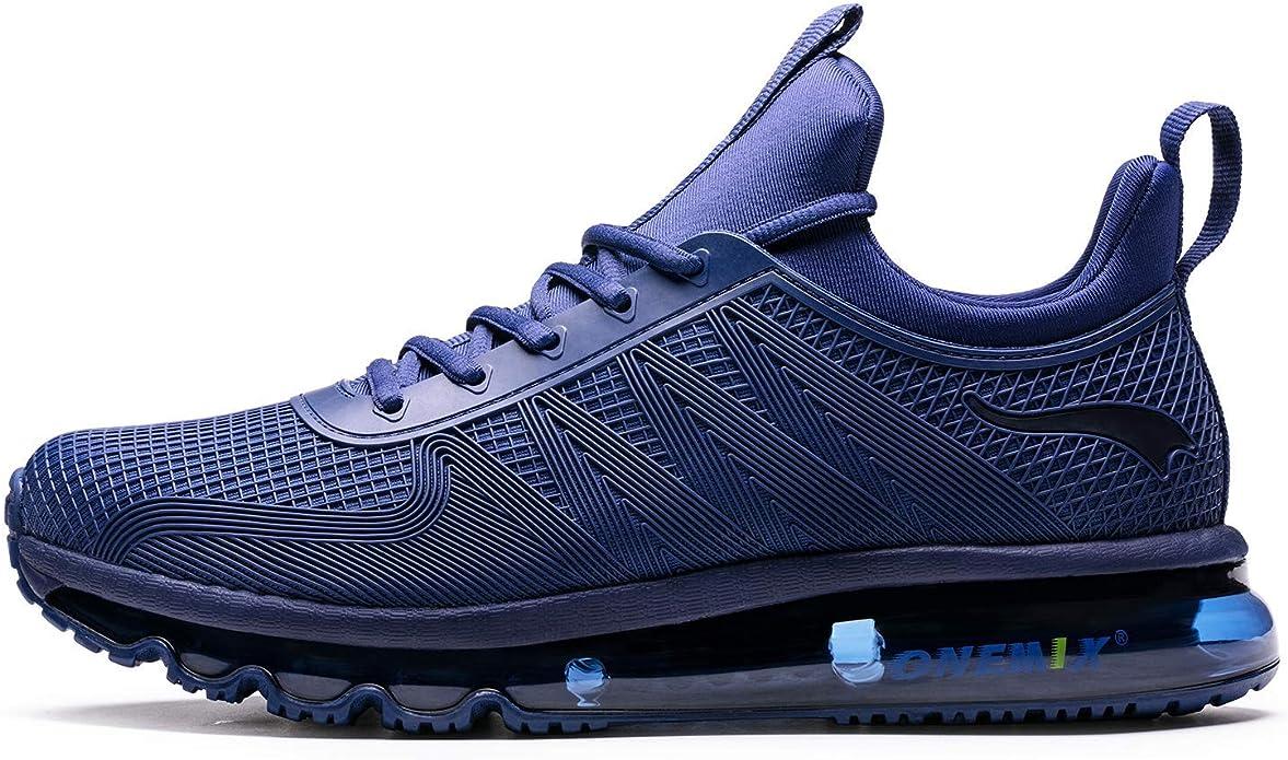 Onemix - Zapatillas de correr para hombre, ligeras, acolchadas, deportivas, tenis, entrenamiento, tenis: Amazon.es: Zapatos y complementos