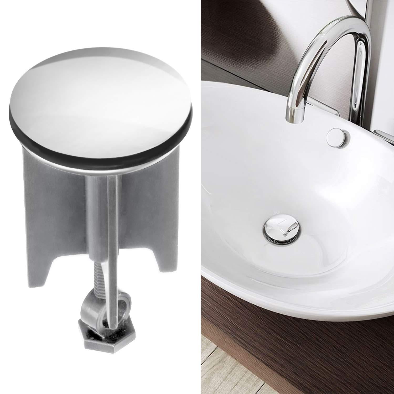 Tapón para lavabo, innislink 40mm tapón de lavabo universal, adecuado para todos los lavabos y bidés convencionales: Amazon.es: Hogar