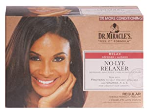 Dr. Miracle's Feel It Formula Thermalceutical Intensive No-lye Relaxer, Regular by Dr. Miracles