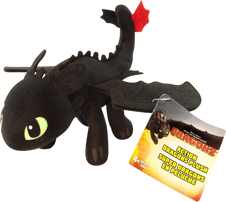 Light /& Night 22 cm Set Light /& Night Fury How to Train Your Dragon Toothless Doll Stuffed Animal Plush Toy for Children Honeytoy 2 PCS