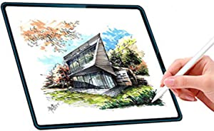 """2PCS Paperfeel i Pad Pro 11"""" Screen Protector-Anti Glare High Touch Sensitivity Screen PET Matte Film Compatible with i Pad 2018/19 Release/Apple Pencil Compatible 11 Inch i Pad & Face ID"""
