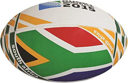 Gilbert Rugby World Cup RWC 2019 Flag South Africa Rugby Ball