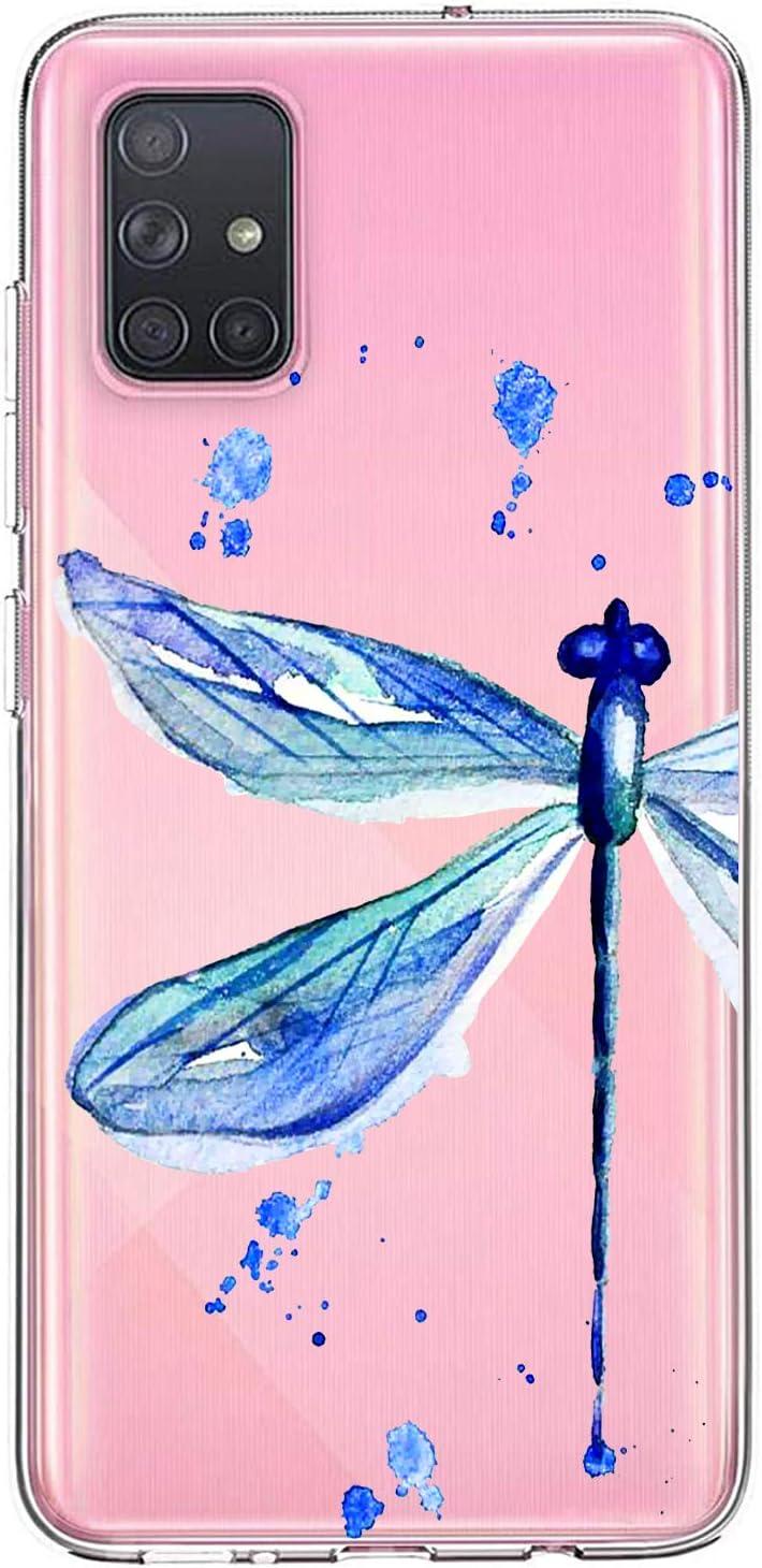 Oihxse Funda para Samsung Galaxy M20 Transparente, Estuche con Samsung Galaxy M20 Ultra-Delgado Silicona TPU Suave Protectora Carcasa Océano Animal Serie Bumper (C8)