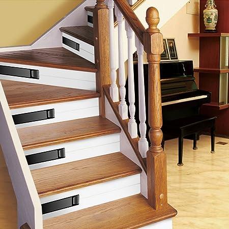 Imitación Azulejo Decoración De La Escalera Pegatinas PVC Papel Autoadhesivo Impermeable No Alice Escaleras Decoración Pegatinas,F-100 * 18cm*1: Amazon.es: Hogar