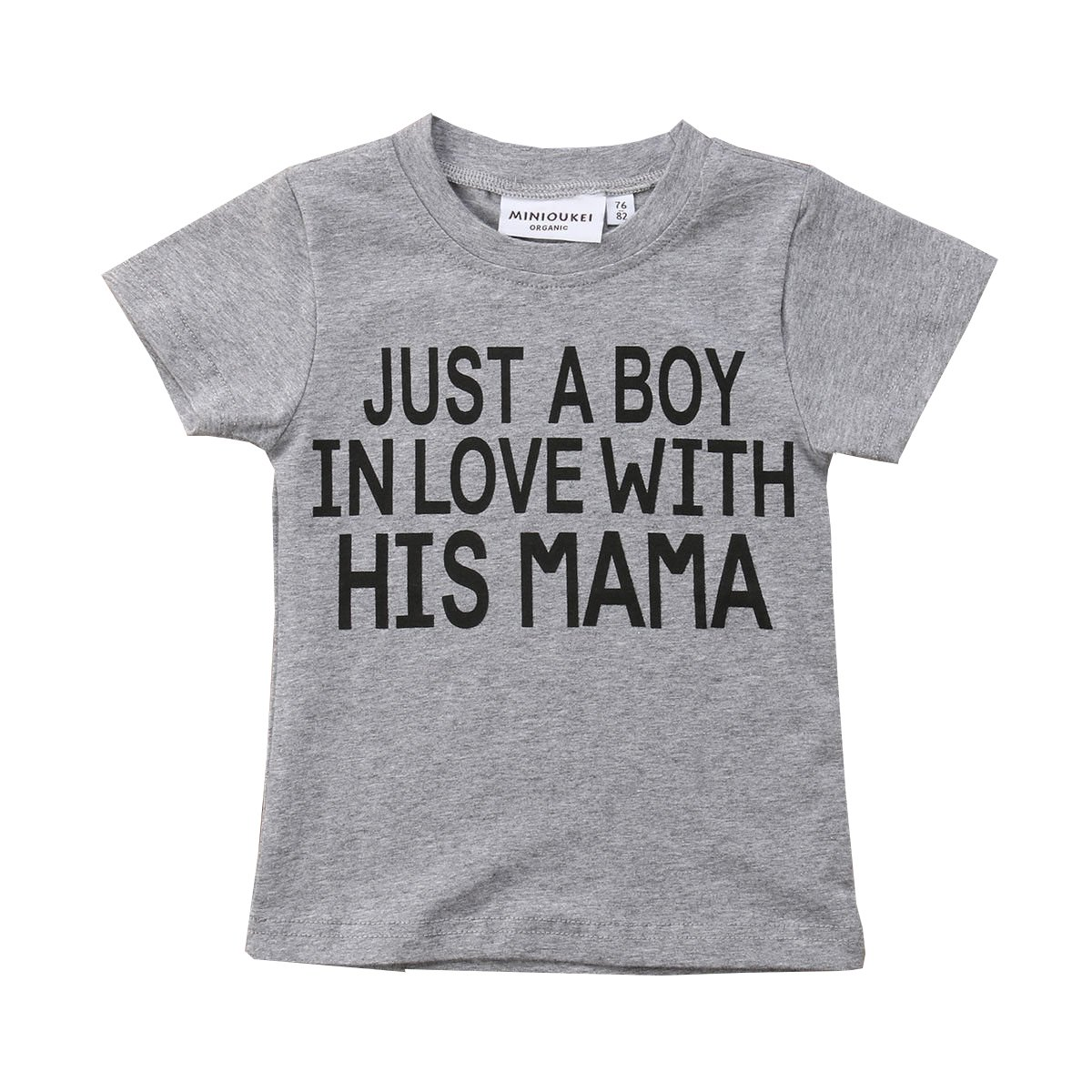 Mubineo Toddler Baby Girl Boy Funny Short Sleeve Cotton T Shirts Tops Tee Clothe