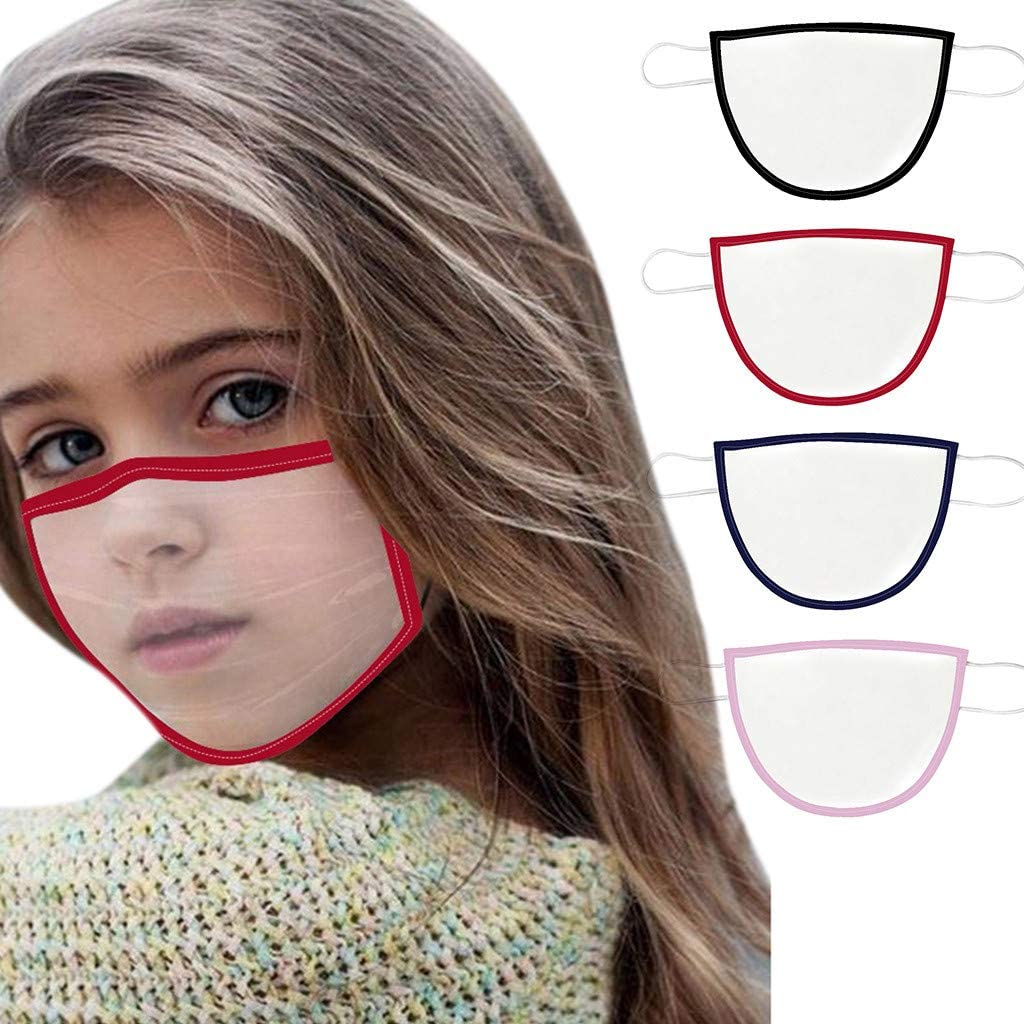 Child Face Covering Reusable Adults Face Shields with Breathing Adjustable Earloop