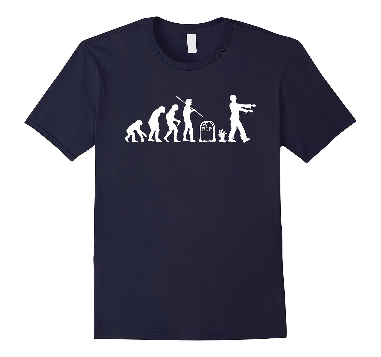 Zombie Evolution Funny Zombie T-Shirts-ANZ