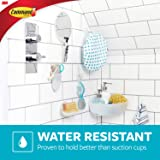Command Shower Water-Resistant, Clear Frosted, 1