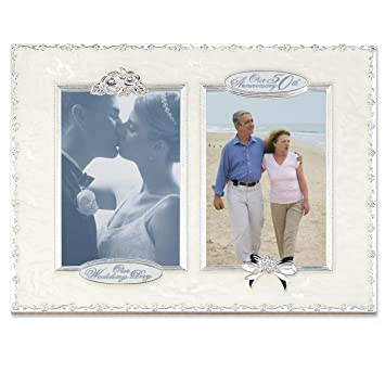 Amazon.com - Lawrence Frames 50th Anniversary with 2 - 4x6 Openings ...