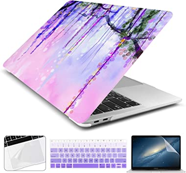 For NEW Macbook Pro 13 with//out Touch Bar A1706 A1708 Rubberized Hard Case 2017