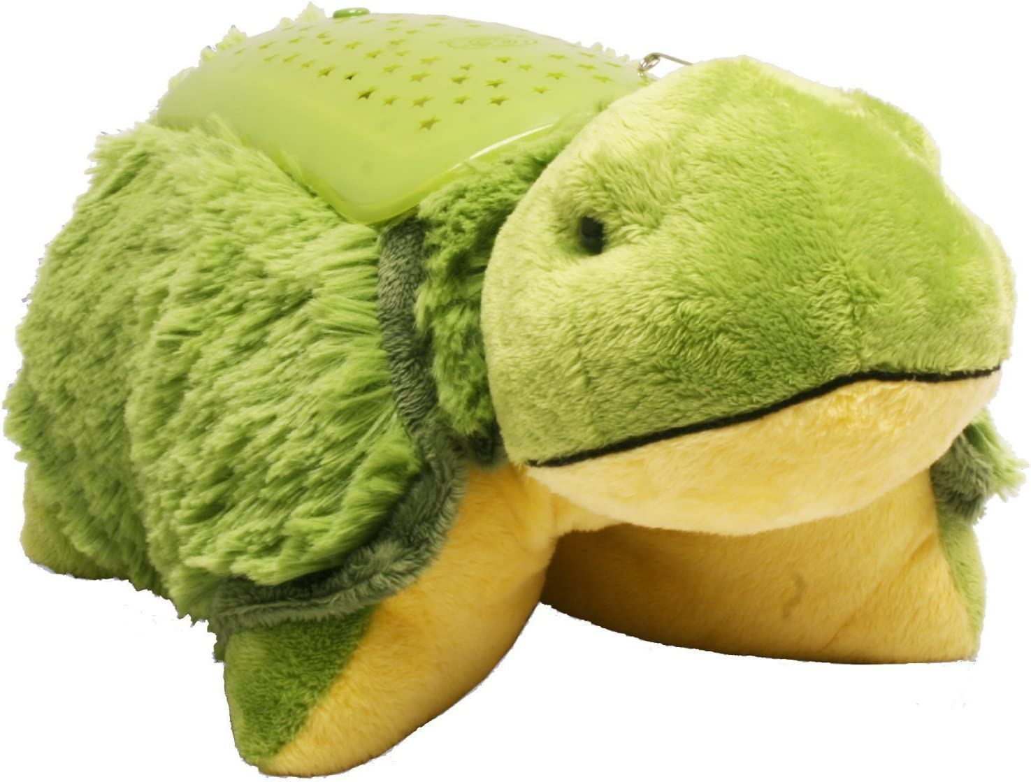 Amazon Com Pillow Pets Dream Lites Tardy Turtle 11 Toys Games