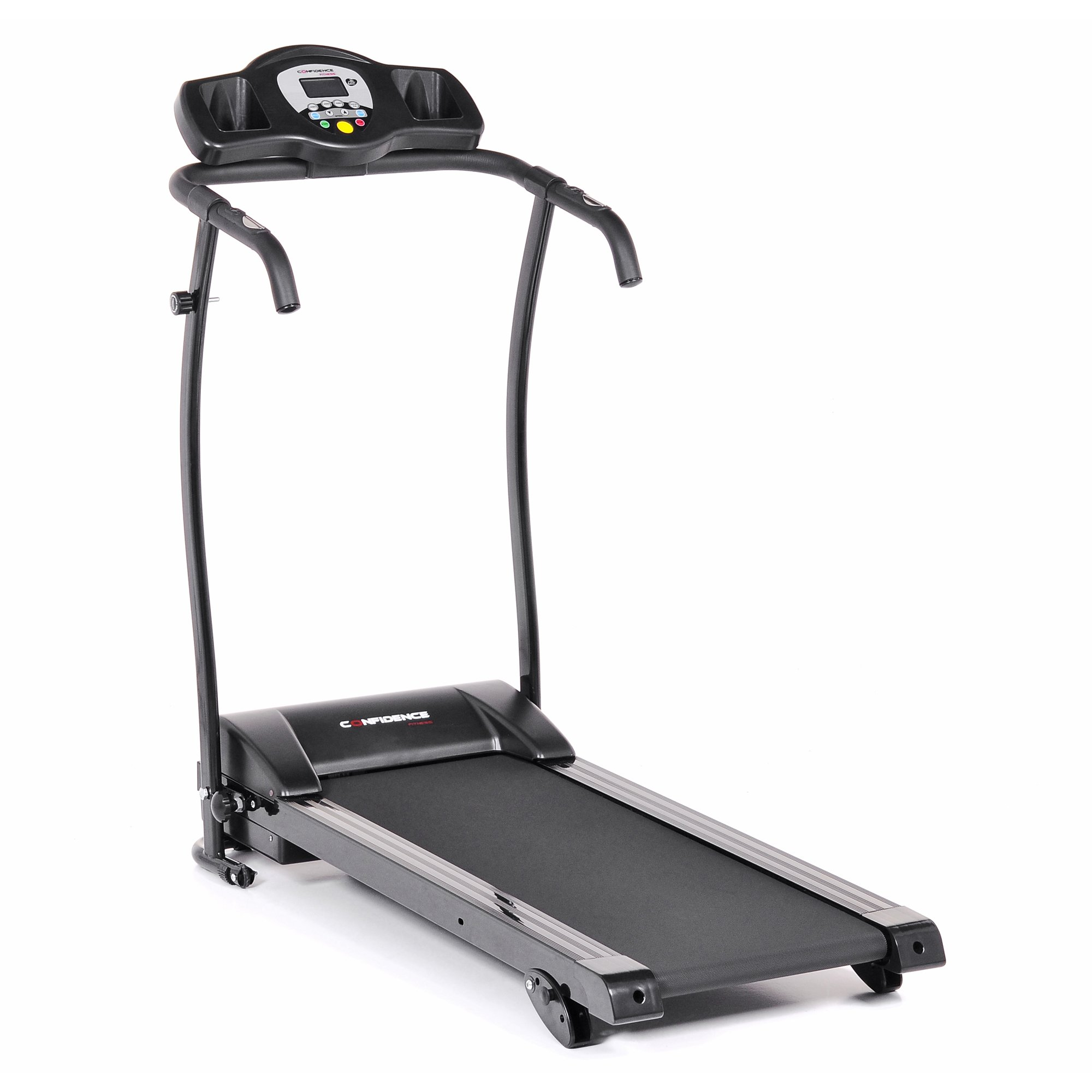 Confidence GTR Power Pro 1100W Motorized Electric Treadmill with Adjustable Manual Incline by Confidence