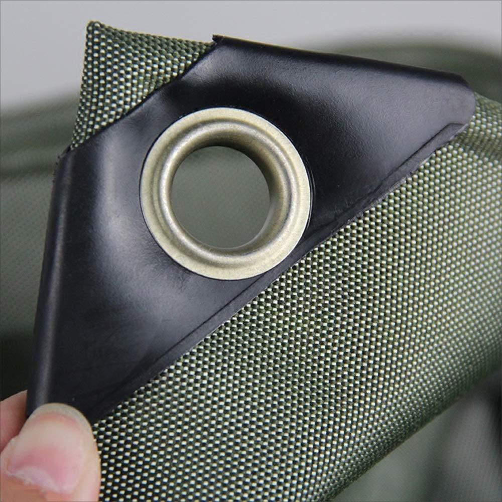 Tarpaulin Silikon Nan Dickes Silikon Tarpaulin Tuch Army Grün Leinwand Sun Shade Tent Regen Zelt Tuch Wasserdicht Sunscreen Plane 610g m2 (Dick 0,6 mm) 0eed55