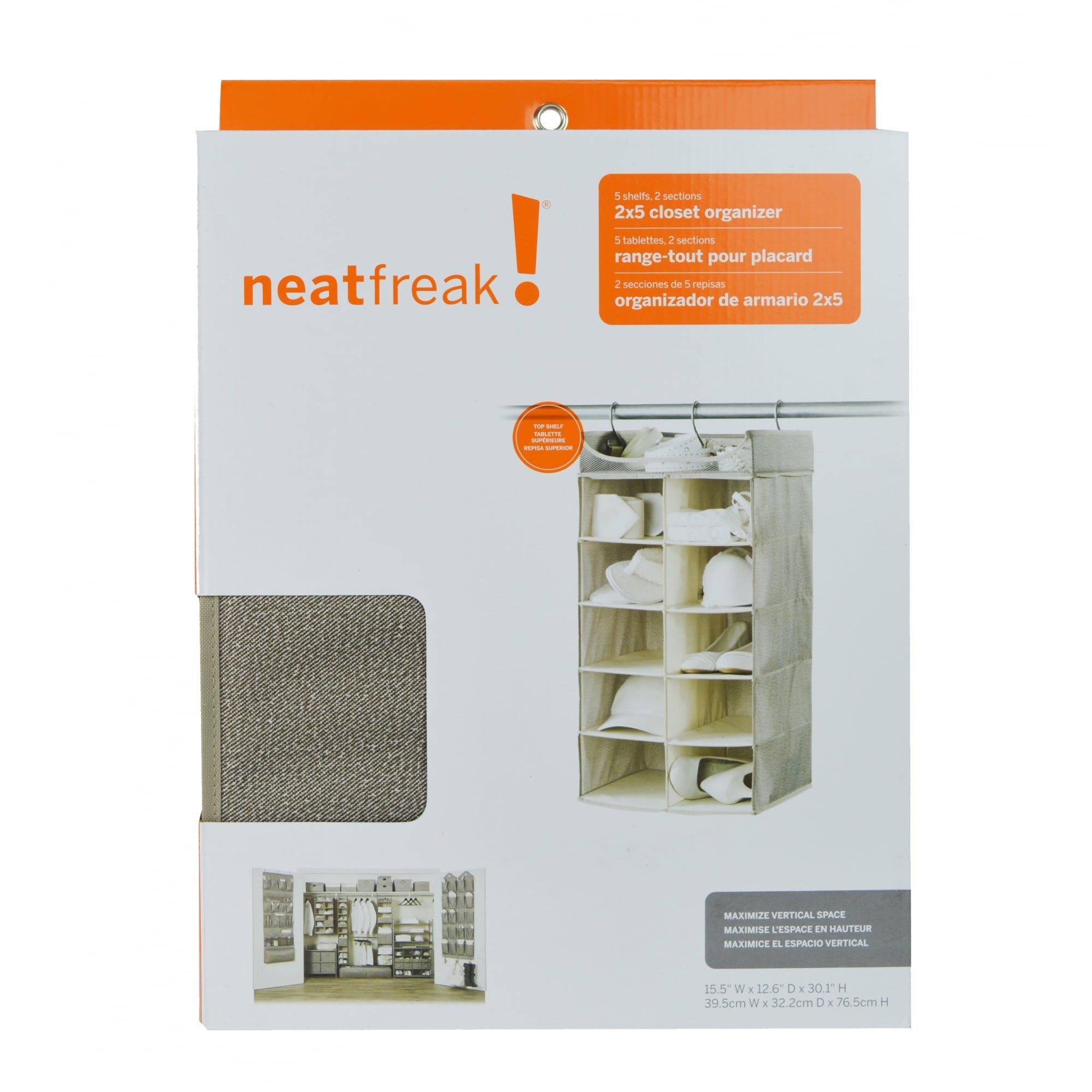 neatfreak Harmony Twill 2X5 Shelf Closet Organizer by Closet Spice (Image #2)