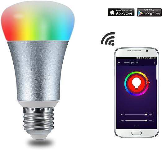WiFi Smart LED luz bombillas Smartphone Controlado inalámbrico ...