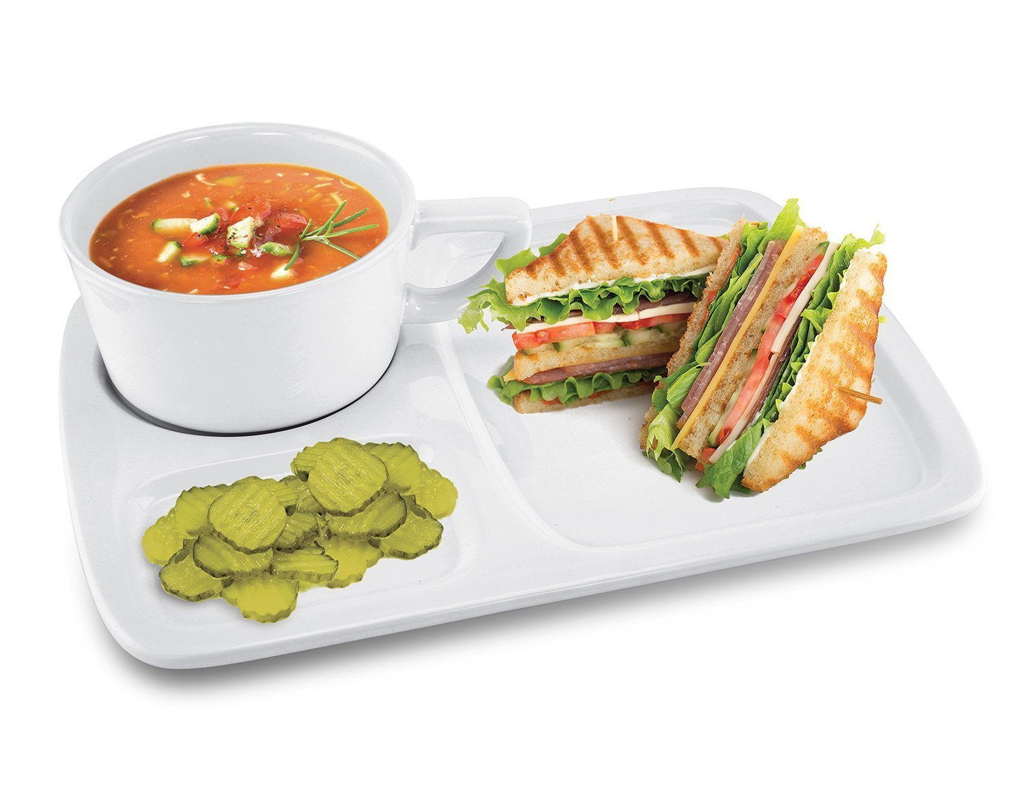 KOVOT ceramic Soup and Sandwich Set | amazon.com
