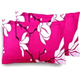 "LVINI Designer Printed 2 Piece Cotton Pillow Cover Set - 17"" x 27"", Multicolour"