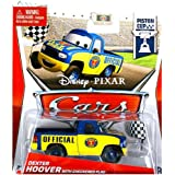 Disney Pixar Cars Diecast Dexter Hoover With Checkered Flag