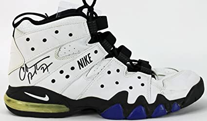 info for 67425 2961f ... reduced suns charles barkley signed game used nike air max size 16 shoe  ac48246 psa 39b37
