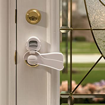 Kidco Door Level Lock - Clear & Amazon.com : Kidco Door Level Lock - Clear : Door Knob Covers : Baby pezcame.com