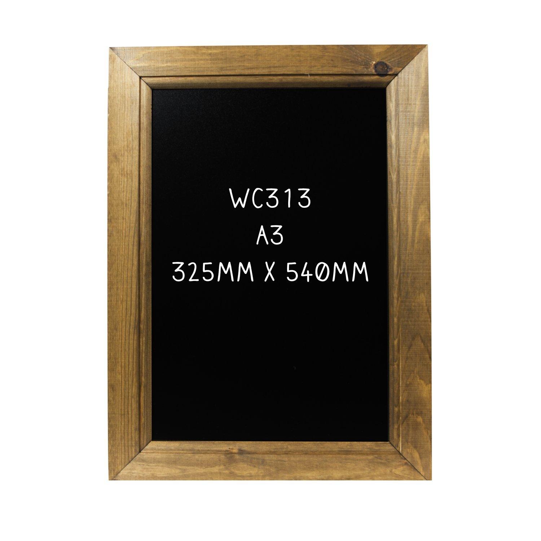 vintage chalkboard oak a3 traditional retro kitchen blackboard