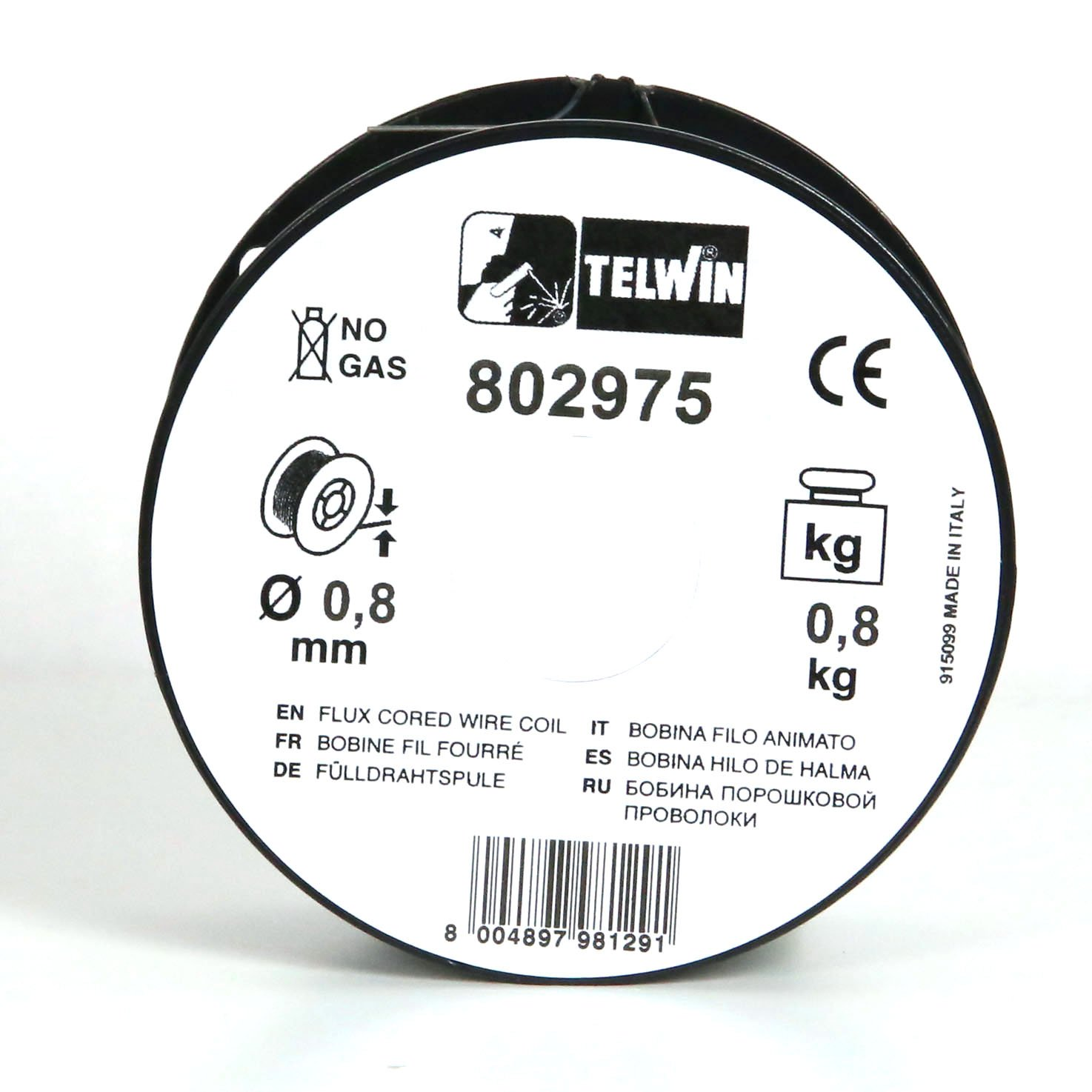 Telwin 802975 Animated Wire Spool For Soldering 08 Mm Kg Wiring Switch Bathroom Faa Welcome