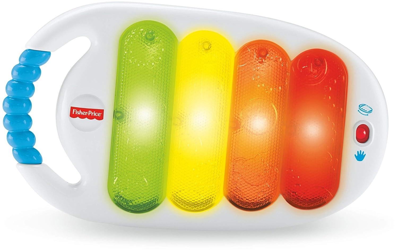 Fisher-Price Xilófono con luces bailarinas, juguete musical para bebé +3 meses (Mattel BLT38): Amazon.es: Juguetes y juegos