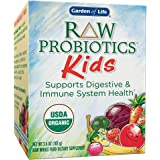 Garden of Life Organic Probiotic for Kids - Raw Organic Probiotic Supplement for Kids' Digestive Health, 96g Powder