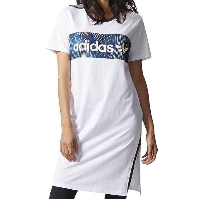 adidas Originals Vestido - para mujer Blanco blanco 34