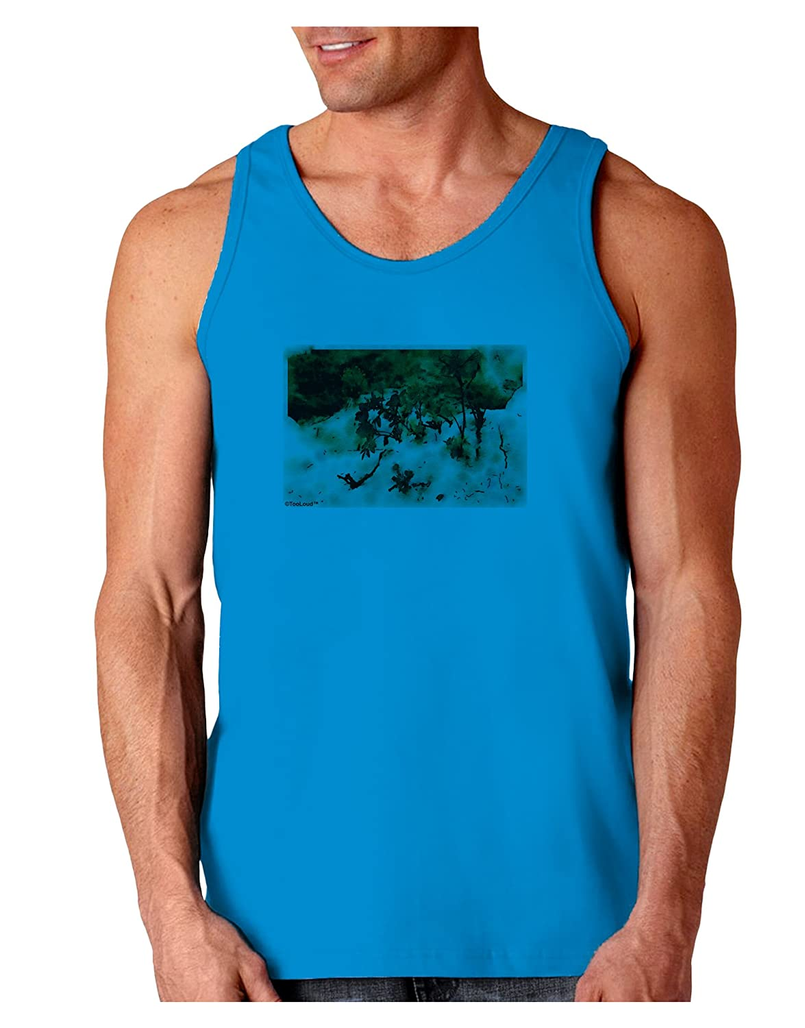 TooLoud CO Painted Mines Watercolor Loose Tank Top