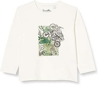 Sanetta Shirt Ivory Conjunto de Playeras para bebés y niños pequeños