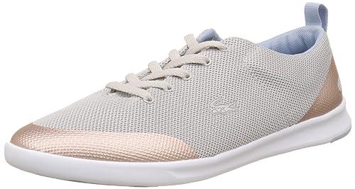 Lacoste Sport Avenir 317 2, Entrenadores Bajos para Mujer, Gris (Lt Gry), 41 EU: Amazon.es: Zapatos y complementos