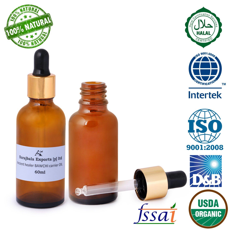 Buy Ancient Healer 100% Natural Bawchi (60 ml) Online at Low