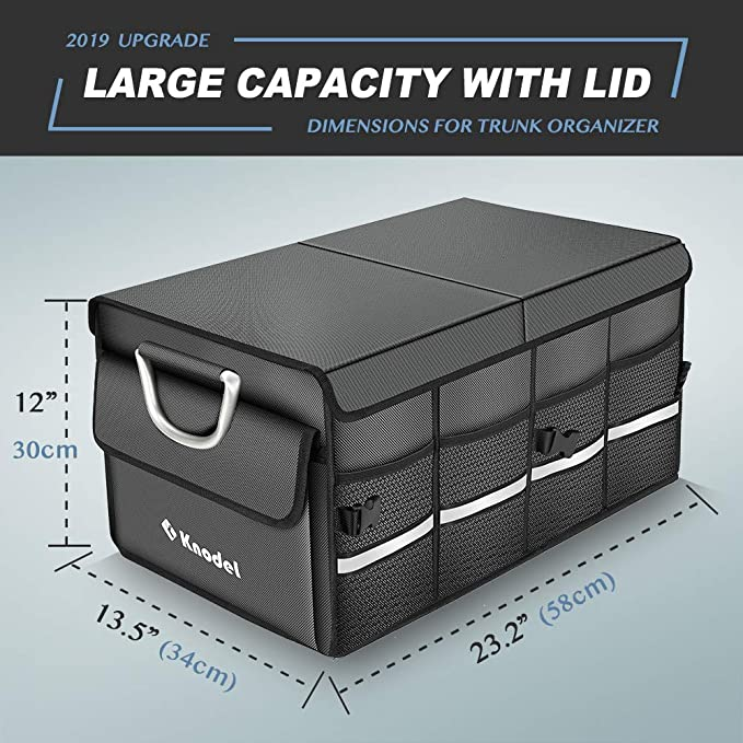 Amazon.com: Knodel - Organizador de maletero de coche ...