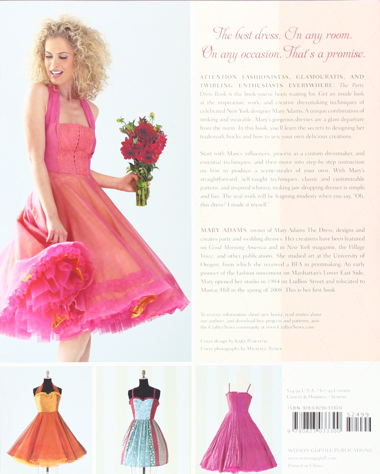 the party dress book how to sew the best dress in the room mary